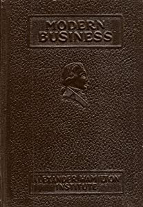 Leather Bound MODERN BUSINESS:   SALESMANSHIP Book