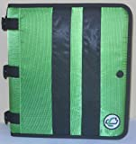 Case-it Locker Ringer Accessory Presentation Binder with 1-inch O-rings, Green (Pre-02 Green)