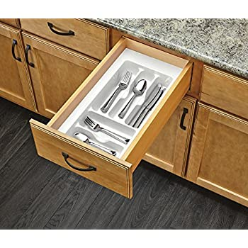 Amazon.com: Camco Adjustable Cutlery Tray - Designed for