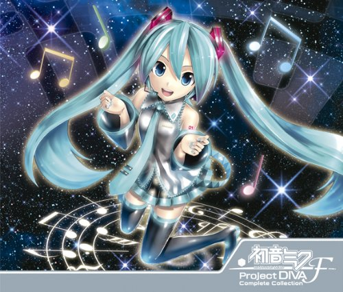 HATSUNE MIKU -PROJECT DIVA-F COMPLETE COLLECTION-(2CD+DVD)(regular)