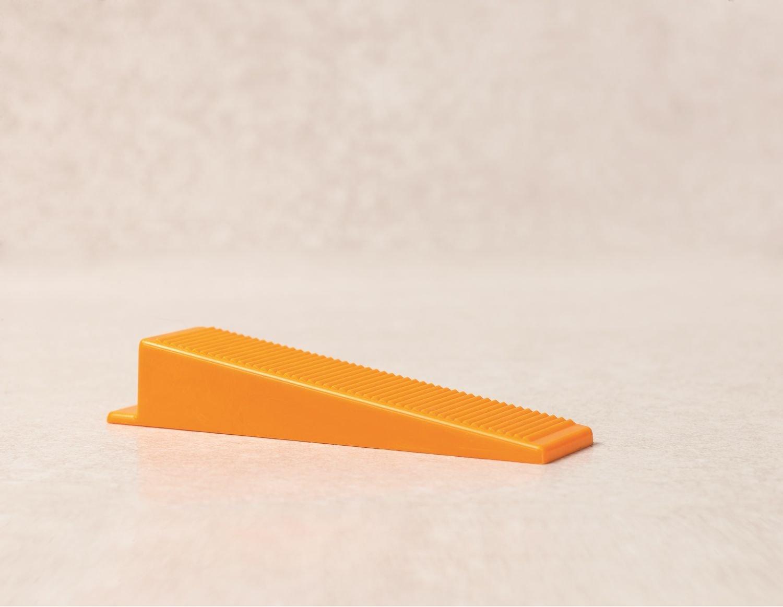 Verlegefix Fliesen Nivelliersystem Basiset 1,0 mm XL 250 Laschen 250 Keile mit Metallzange