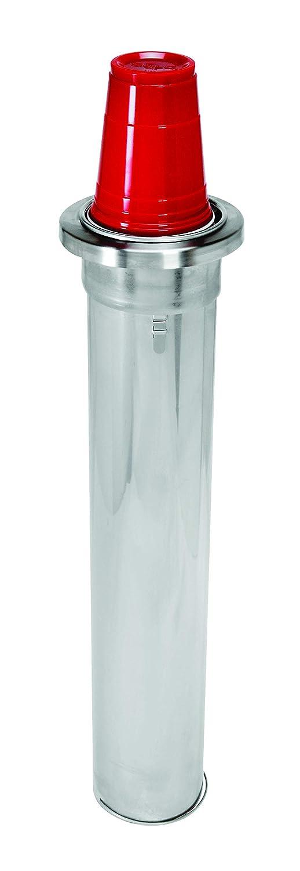Amazon Com Dispense Rite Adj 1 Dispense Rite In Counter Cup Dispenser Adjustable From 4 Oz To 12 Oz Stainless Steel 2 Spring 22 Length Rim Diameter Range 2 1 2 To 3 1 2 Silver Industrial Scientific