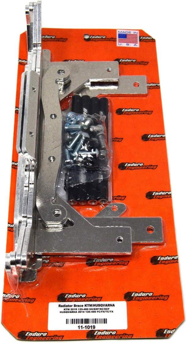 Enduro Engineering Radiator Braces /& Guards Combo for 2019 KTM//Husqvarna 125-450