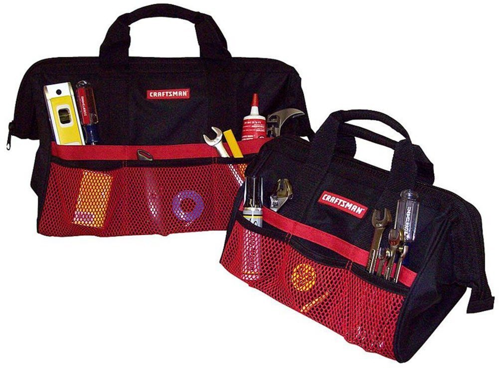 Craftsman 9-37537 Tool Bag Combo, 13''/18''