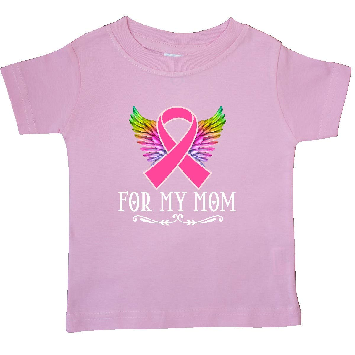 inktastic Breast Cancer Ribbon for My Mom Baby T-Shirt