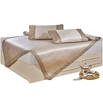 Colchonetas para colchones Cool Summer 3 Piezas 1.8m 1.5m Colchón Doble para Aire Acondicionado (Tamaño : 180 * 200cm): Amazon.es: Hogar