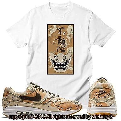 4dfe6452ea Custom T Shirt Matching Nike Air Max 1 Desert Camo AM1 1-4-2 at Amazon  Men's Clothing store: