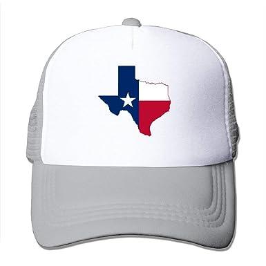 Bandera de Texas para Adultos Sombreros, Gorras de Malla Unisex ...