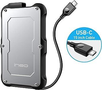 Amazon.com: ineo 2580 - Caja para disco duro externo (2,5 ...