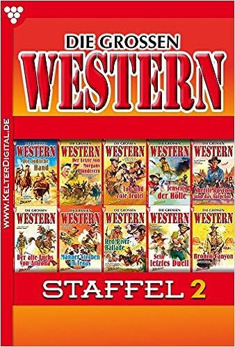 Descargando libros para encender para ipad Die großen Western Staffel 2 (German Edition) en español PDF