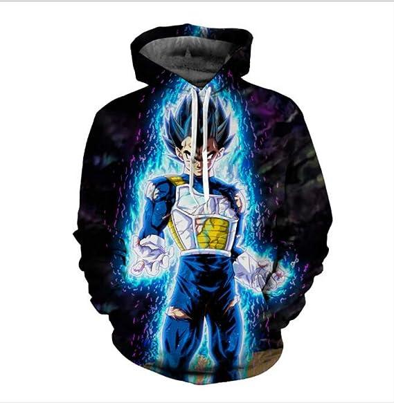 Amazon.com: Chaquetas & abrigos Dragon Ball Z sudadera con ...