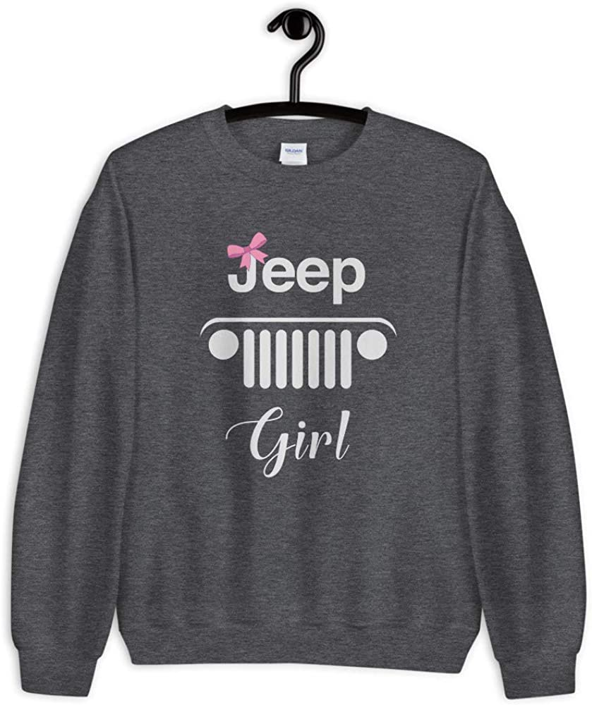 Mountain Adventure Offroad Quotes Unisex Sweatshirt Off Road Jeep Girl Black Shirts for Girls 4x4 SUV Lover