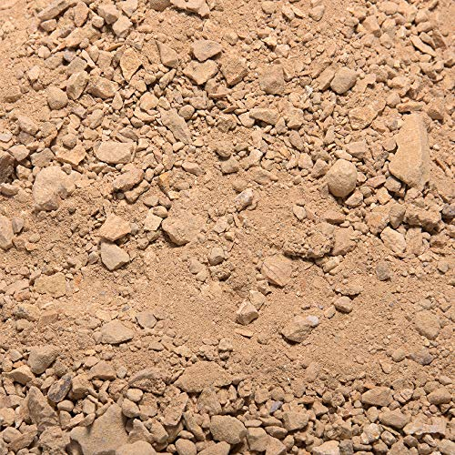 (Southwest Boulder & Stone Landscape Decomposed Granite | 20 Pounds | Natural, Crushed Rock Fines Ground Cover for Landscaping, Gardening, Pathways, and More (California Gold))