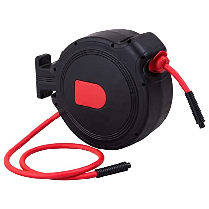 300 PSI JEGS Performance Products 81056 Retractable Air Hose Reel Max Pressure