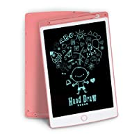 LCD Writing Tablet, Richgv 10 Inch Light Drawing Board for Kids, Doodle Board Kids Drawing Tablet Doodle Pad Pink