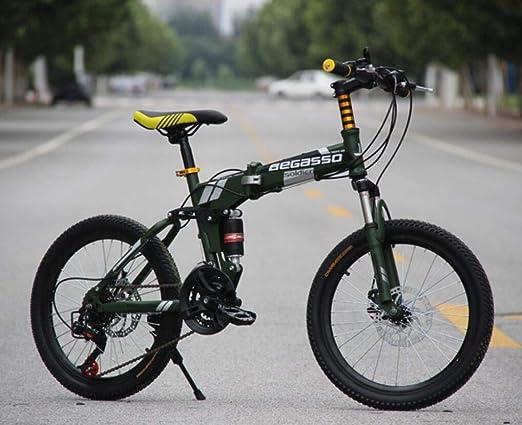 Hycy Bicicleta De Montaña Totalmente Amortiguada, Frenos De Disco ...
