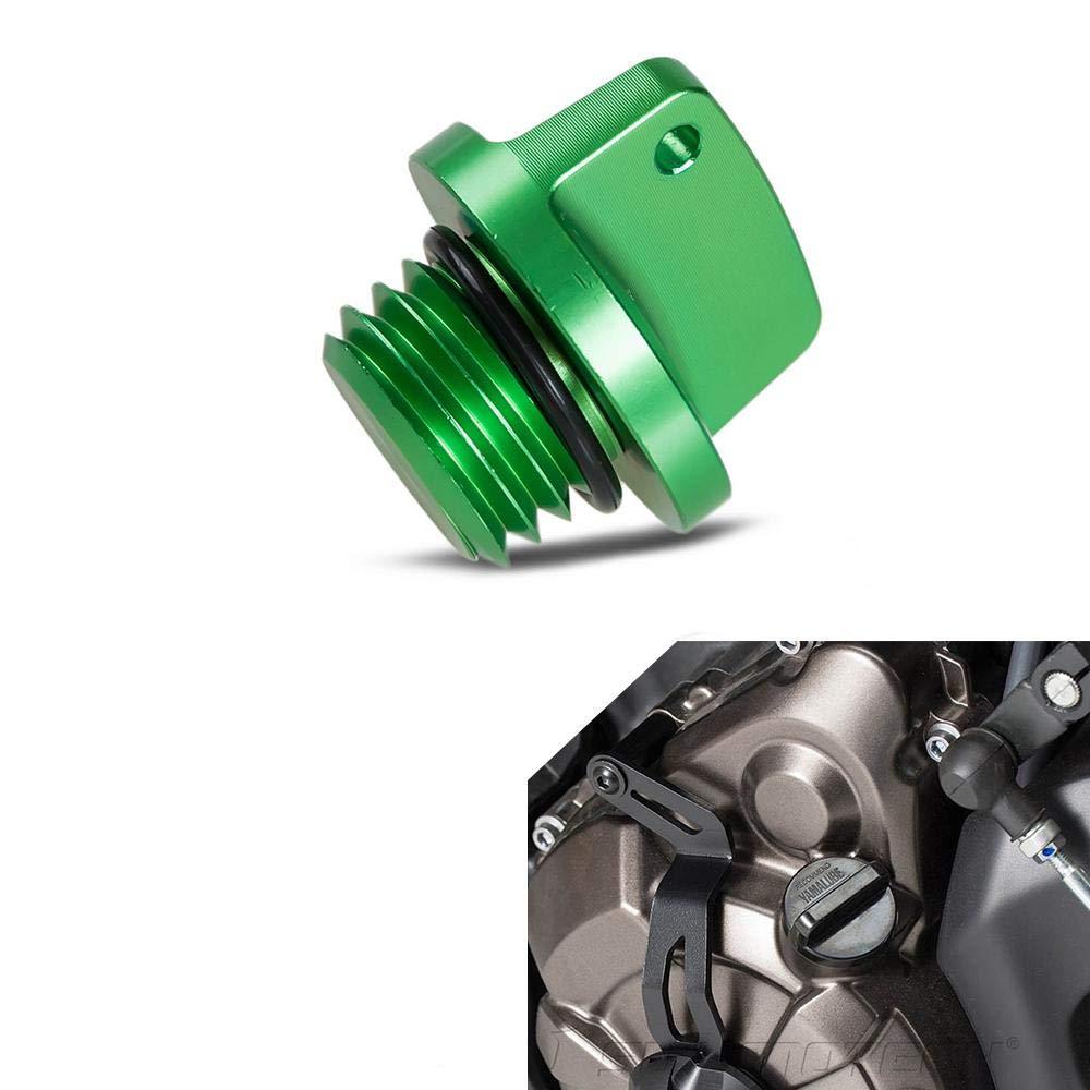 CNC Oil Filler Cap Plug for Kawasaki Z650 Z800 Z900RS Z1000 ER4N ER6F ER6N Ninja 400 600 650 1000 VERSYS 650 1000 ZXR750//R Titanium