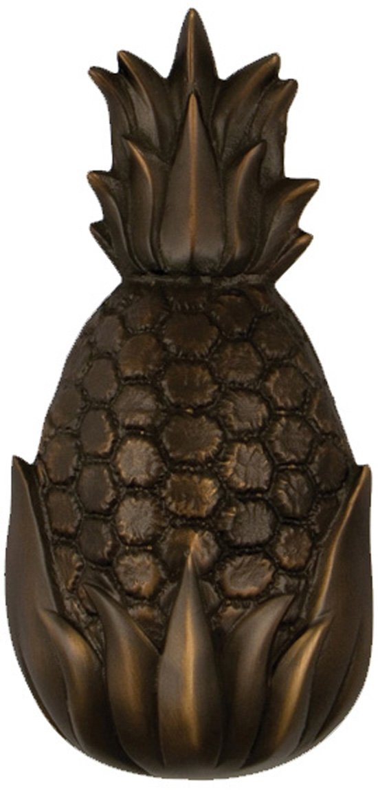 Hospitality Pineapple Door Knocker - Oiled Bronze (Premium Size)