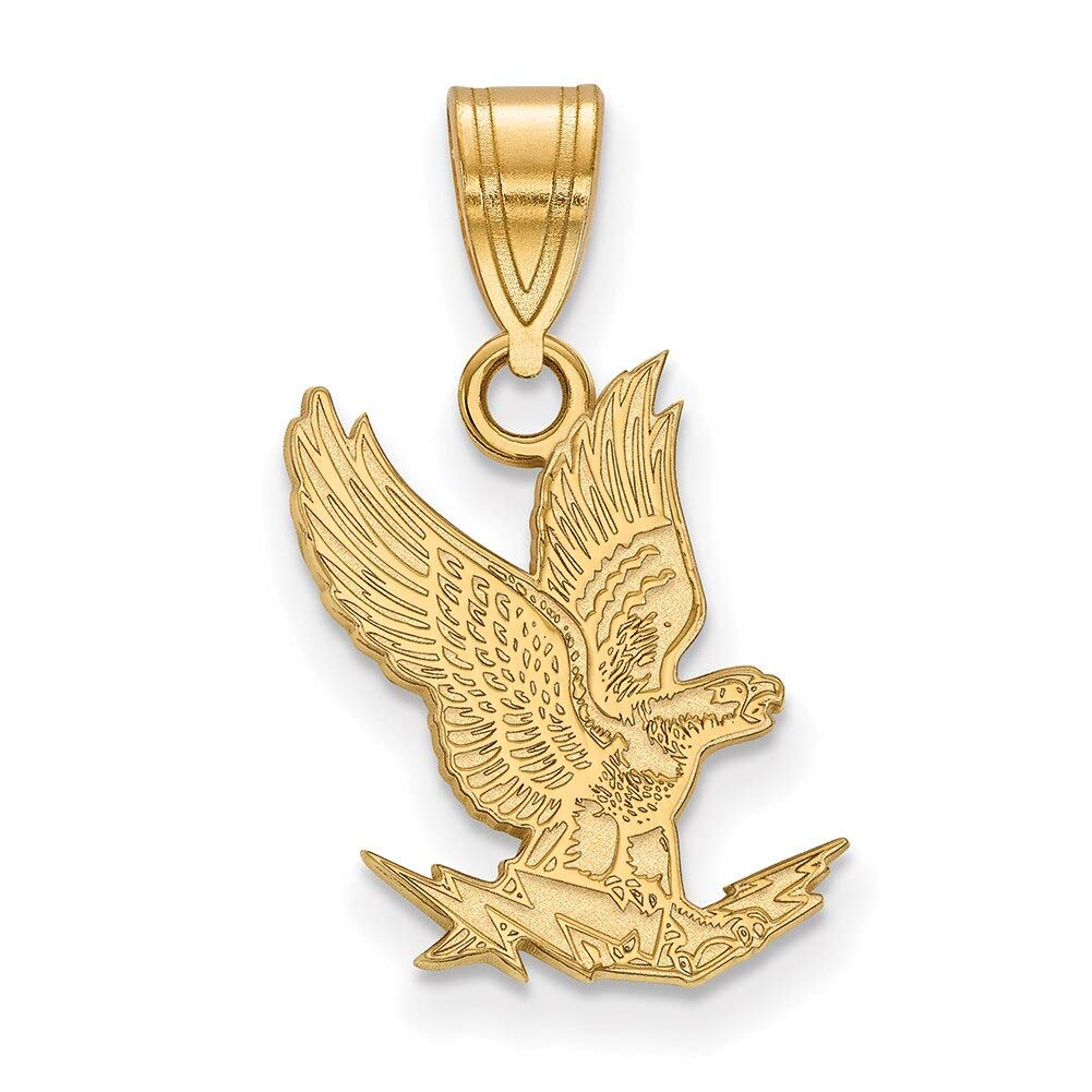 Lex /& Lu LogoArt 14k Yellow Gold United States Air Force Academy Medium Pendant LAL136492