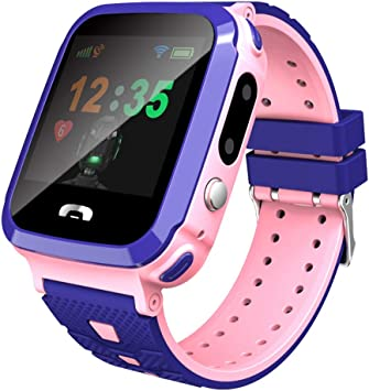 Amazon.com: Children Smart Watch, Fully Compatible Gps ...