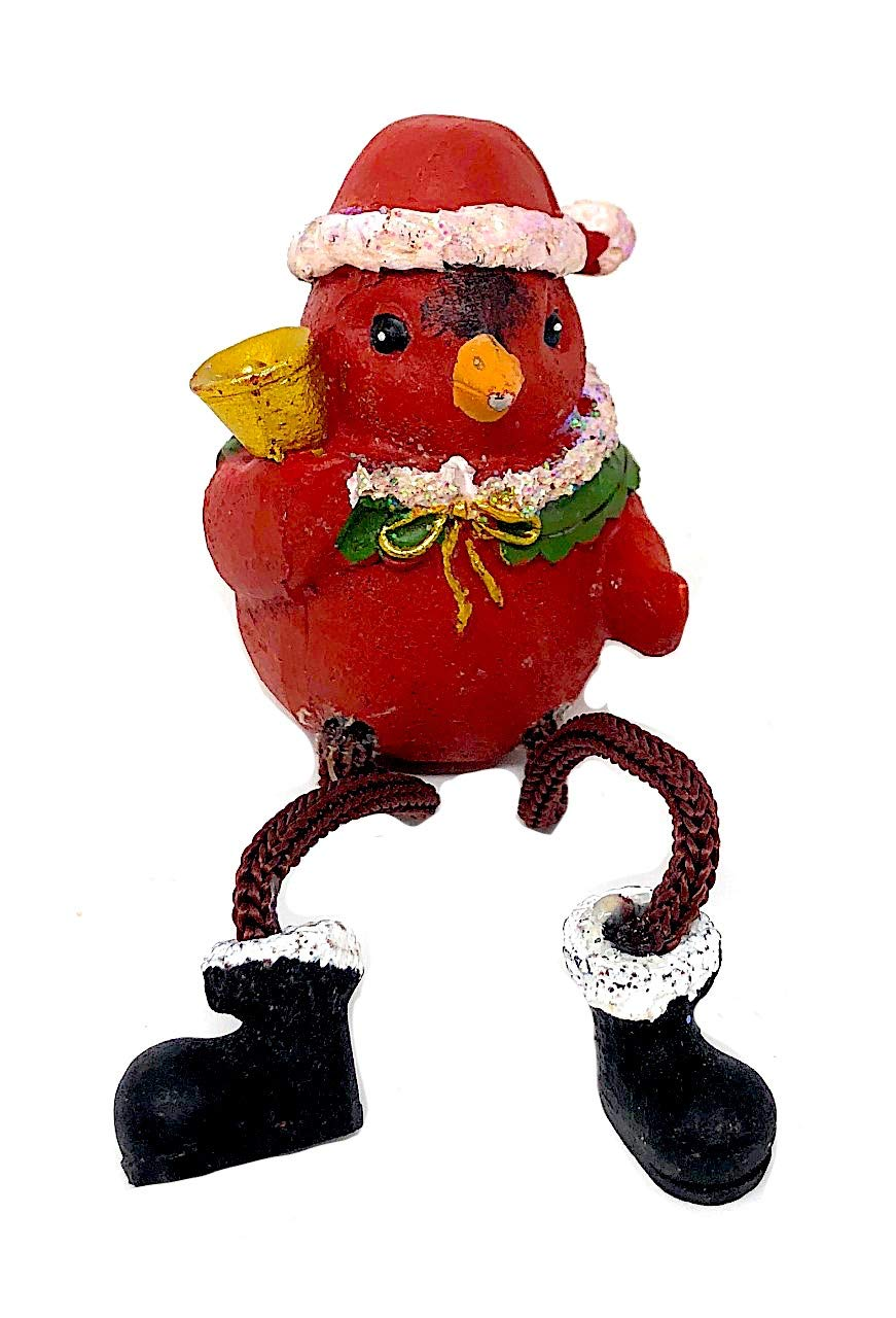 7a837b3b Amazon.com: Red Cardinal Shelf Sitter Figurines Collectibles Mantel ...