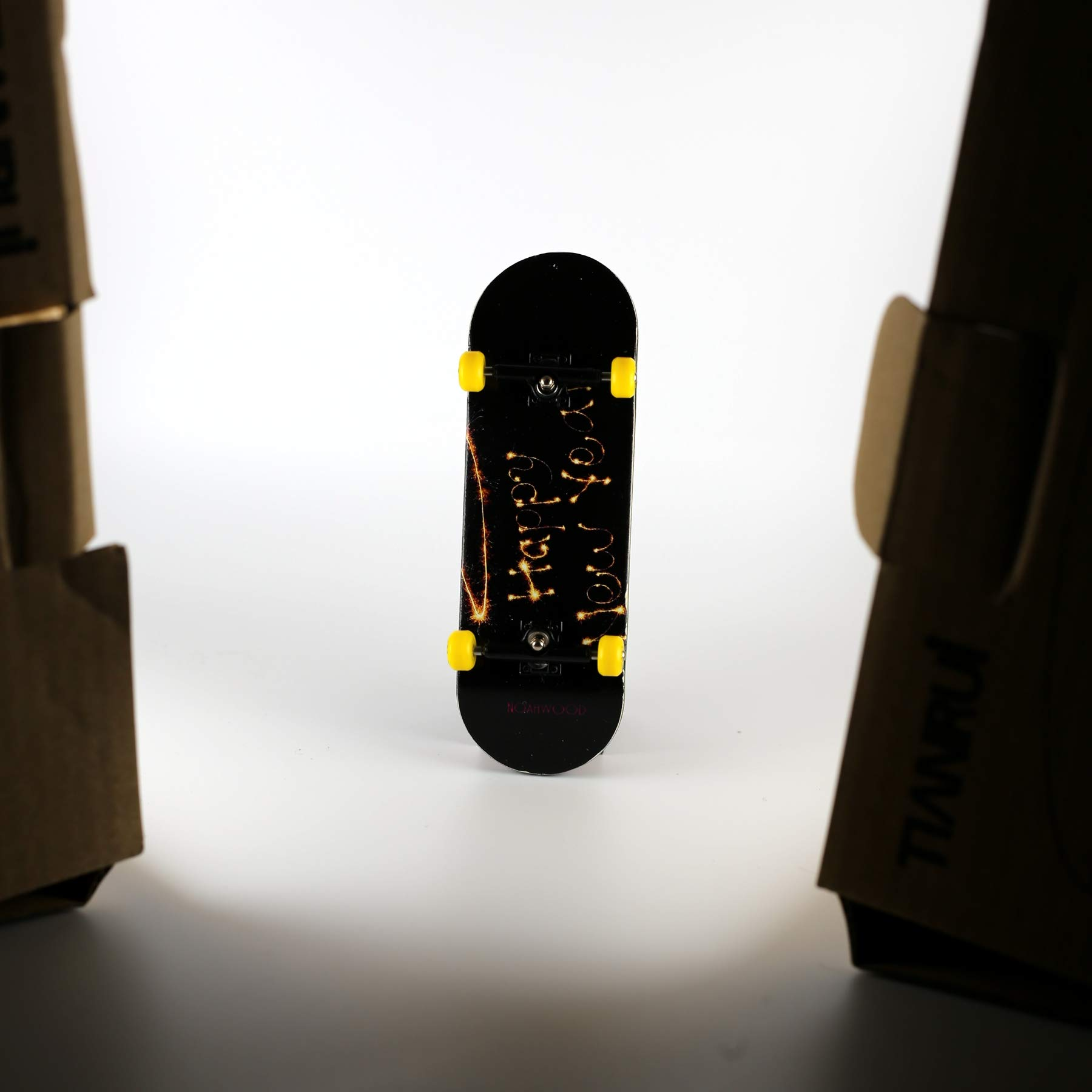 NOAHWOOD Wooden PRO Fingerboards (Deck,Truck,Wheel / a Set) (Happy New Year I) by NOAHWOOD (Image #7)