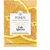 POND'S Cuidado Facial Fruity Hydra Fresh Naranja, Mascarilla, 26 G