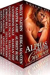 Alphas Prefer Curves: A Curvy Girl Romance BBW Anthology (Volume One) (English Edition)