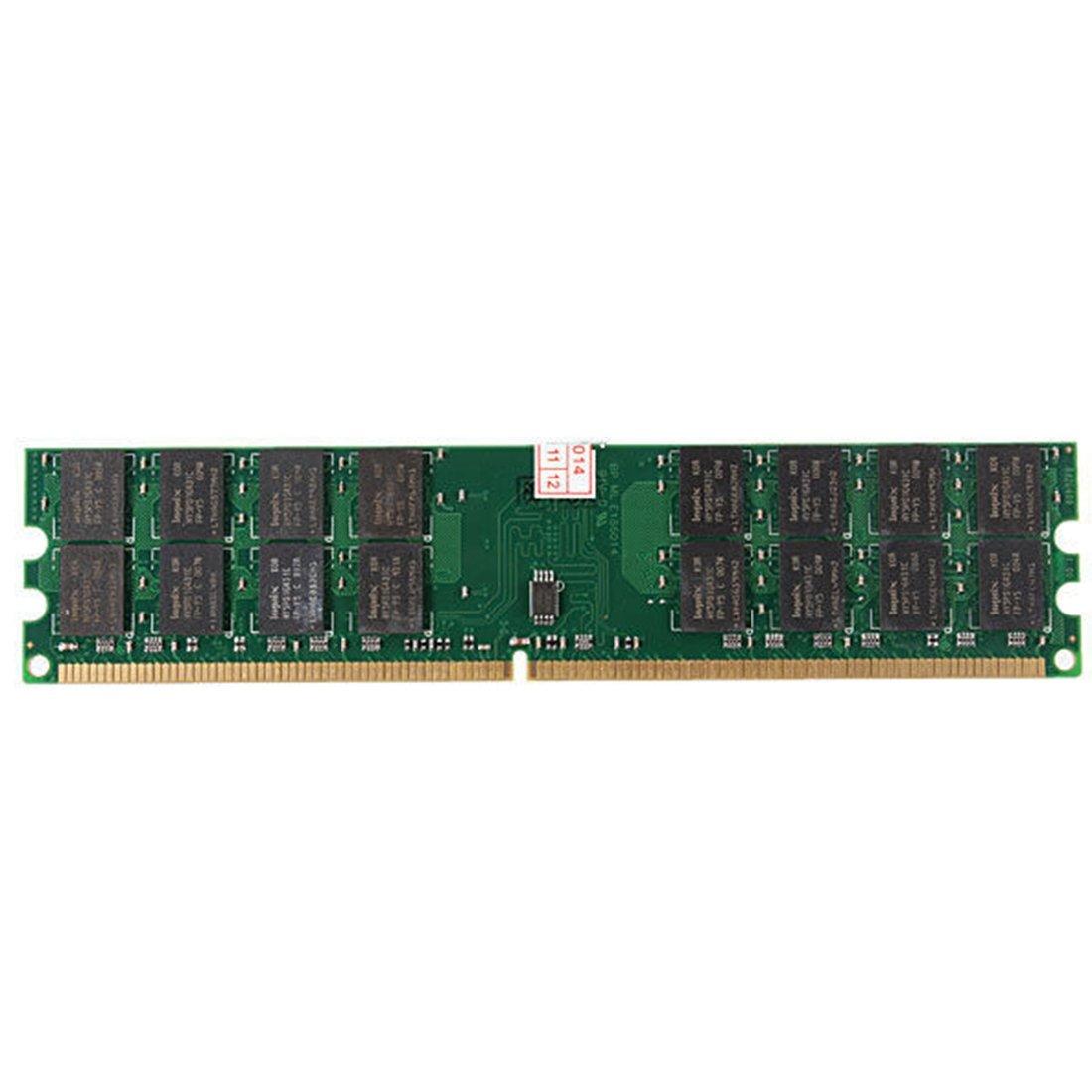 4GB Memory RAM - SODIAL(R)New 4GB Memory RAM DDR2 800MHZ PC2-6400 240 Pin Desktop DIMM AMD Motherboard