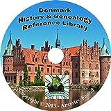 24 old books DENMARK Danish Scandinavia History & Genealogy Family Tree