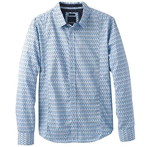 Aspen Sweater (prAna Men's Lukas Slim Sweater, Aspen Blue, Medium)