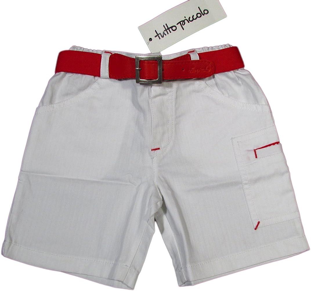 Tutto Piccolo - Bermuda - para bebé niño blanco 1 Meses: Amazon.es ...