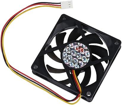 SODIAL(R) Ventilador de Refrigeracion Enfriador 70mm Chasis PC ...