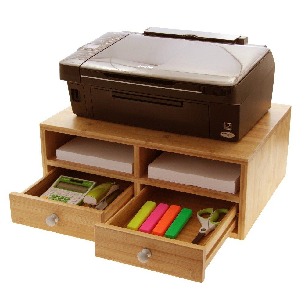 under shelf stand impromptu desk printer safco table ideas raw