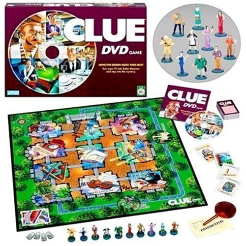Dvd-Enhanced Board Game Of Deduction - Clue DVD Game by Hasbro