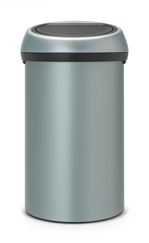 Brabantia Touch Bin, 60 L - Metallic Mint: Amazon.co.uk: Kitchen & Home