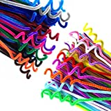 720 Pcs 36 Colors Glitter Pipe Cleaners Chenille Stems,Assorted Colors Pipe Cleaners for Creative Handmade DIY Crafts,Ornaments,Party Decoration (6 mm x 12 Inch)