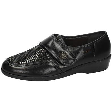 MADE IN SPAIN 67471 Mocasines Negros SEÑORA Zapatos MOCASÍN Negro 37