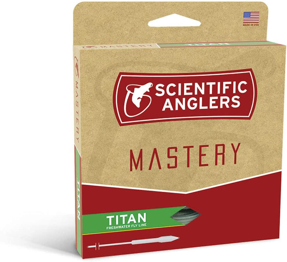 Scientific Anglers Mastery Textured Titan Taper Fly Line