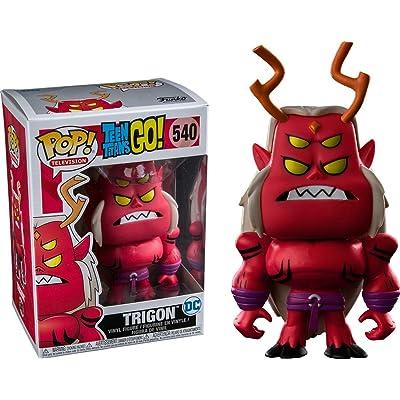 Funko POP! 14966 Teen Titans GO! Trigon #540 Toys R' US Exclusive: Toys & Games