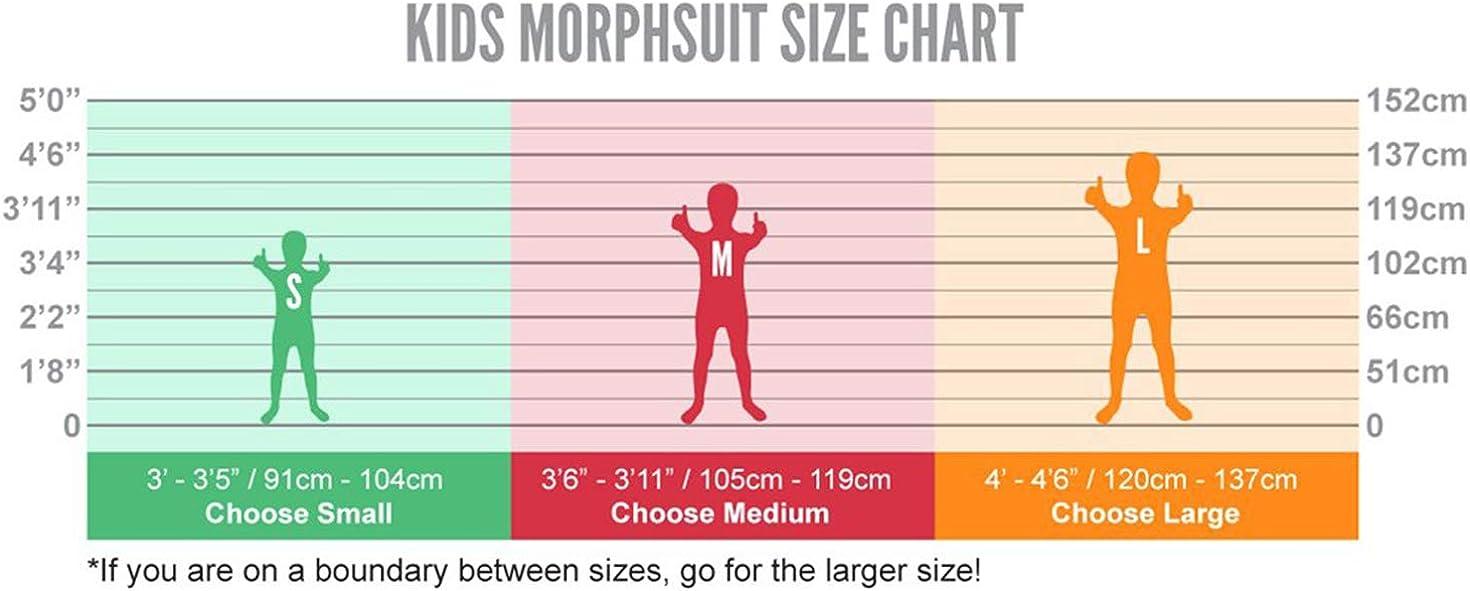 Morphsuits Kids Eyeless Jack Urban Legends Halloween Costume