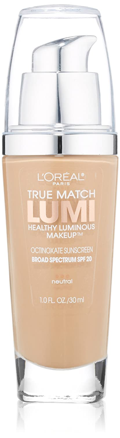 L'Oreal Paris True Match Lumi Healthy Luminous Makeup, Natural Buff, 1.0 Ounces L'Oreal Paris K1078800