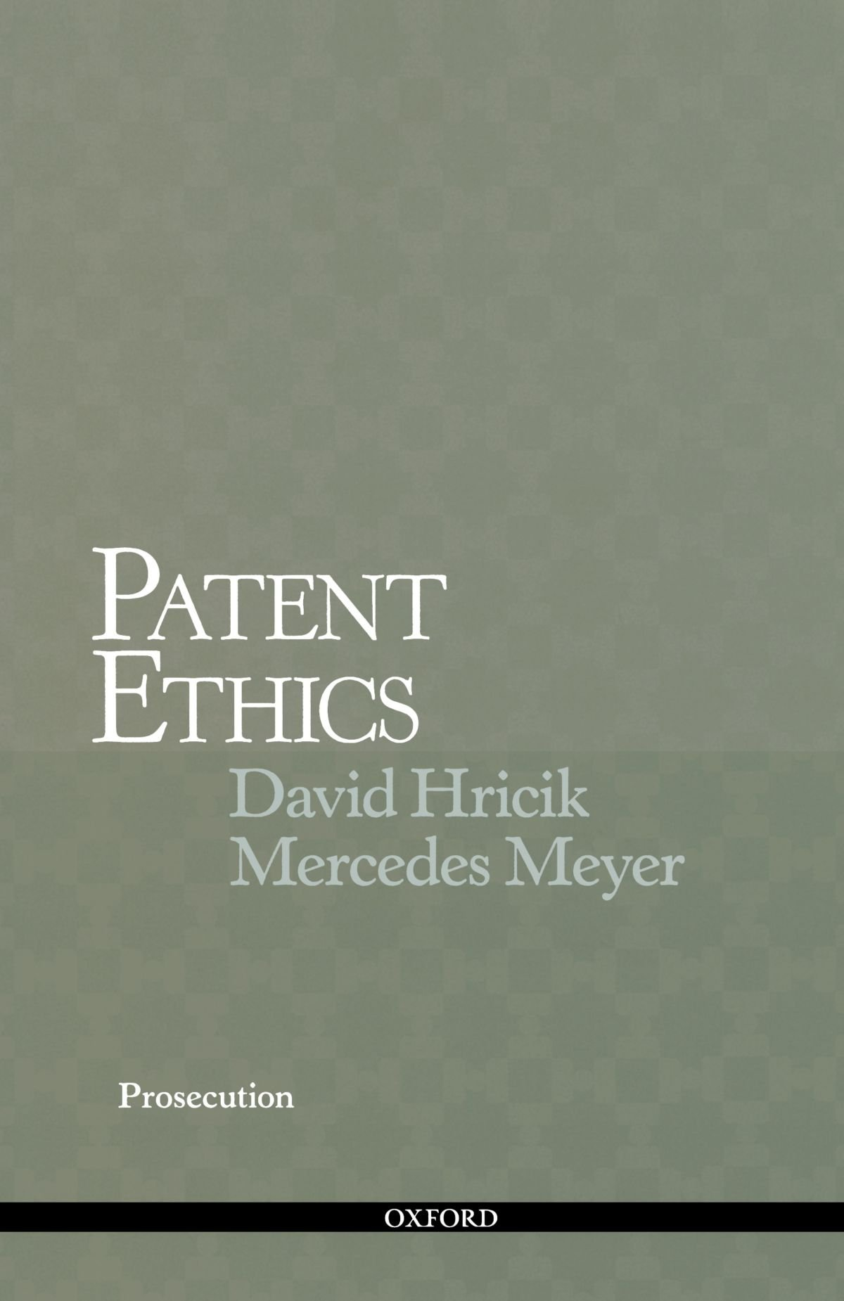 Patent Ethics Prosecution