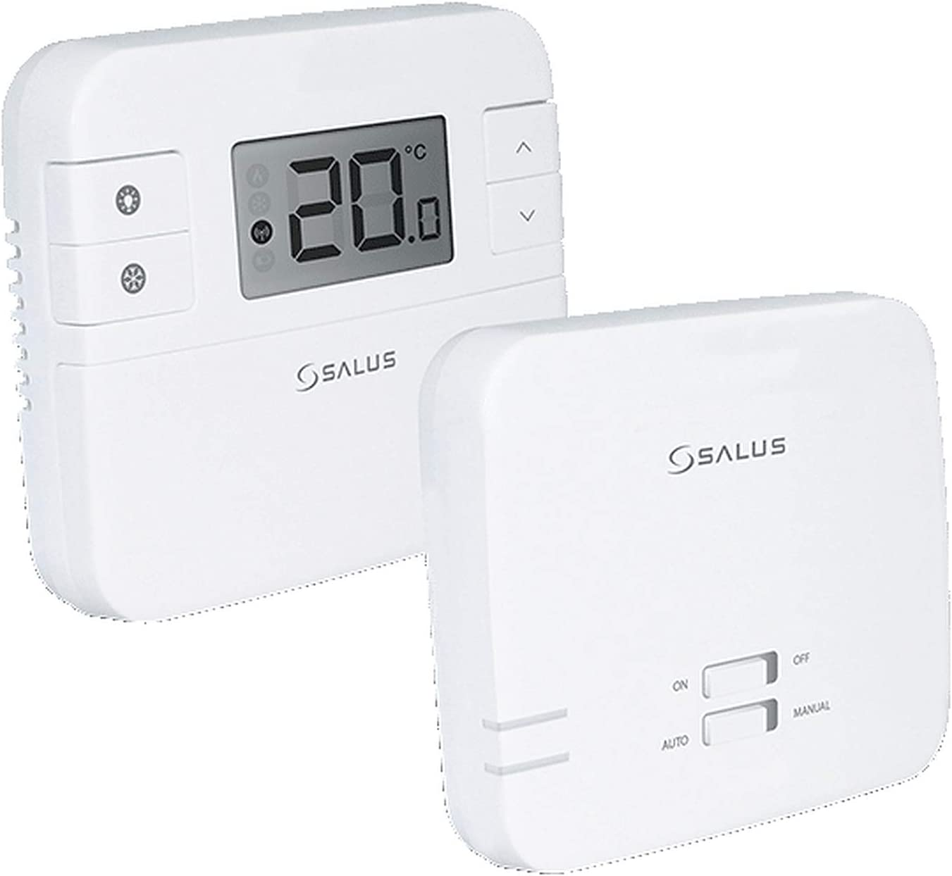 Salus RT310RF Wireless Thermostat, White