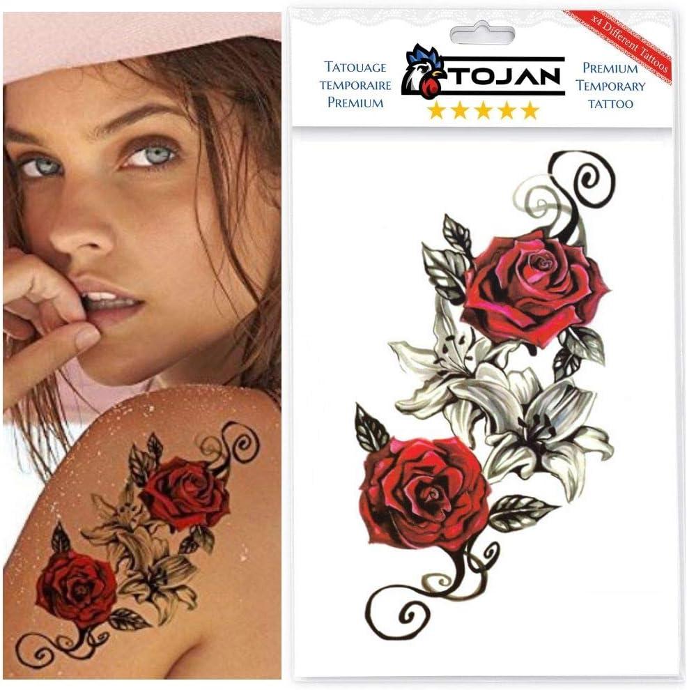 4 Tatuaje Temporal Tribal Sensual Y Sexy para mujer de marca Tojan ...