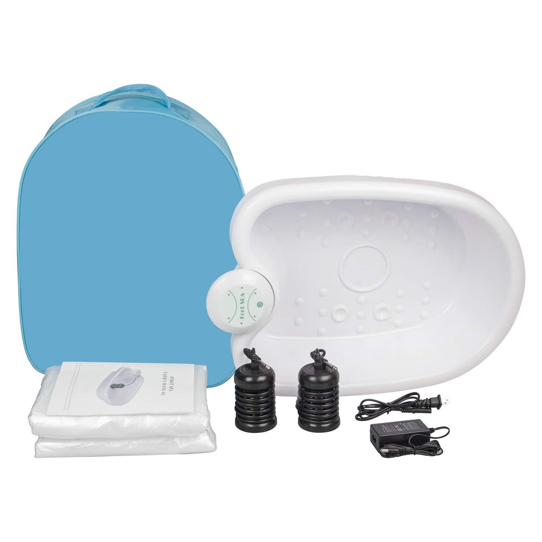 Portable Ionic Detox Foot Bath Spa Machine, Ionic Foot Bath Detox Machine Cleanse for Home Beauty Salon Spa Use