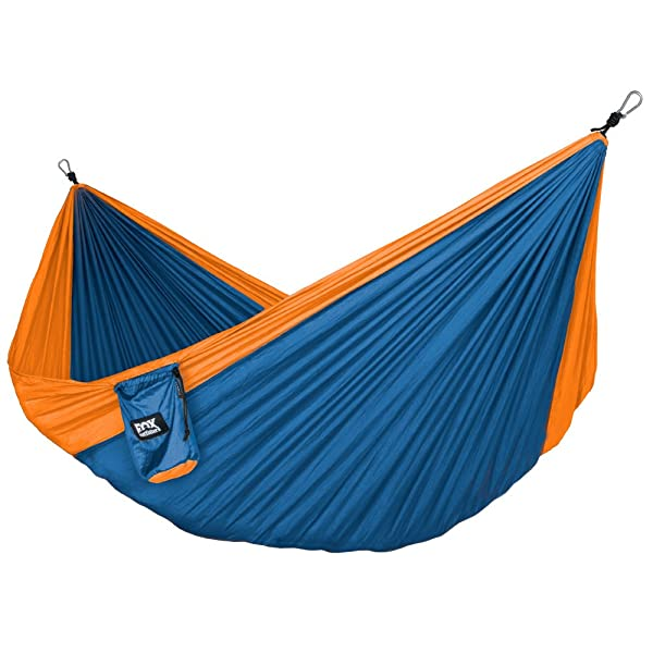 Neolite Double Camping Hammock - Lightweight Portable Nylon Parachute Hammock for Backpacking, Travel, Beach, Yard
