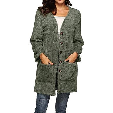 Chaqueta para Mujer, Abrigos De Mujer Invierno Plumas, Chaquetas Negras De Mujer De Vestir, Abrigos De Moda Mujer, Verde, S: Amazon.es: Ropa y accesorios