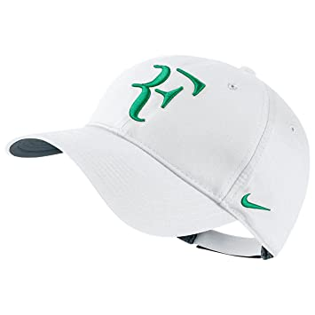 Nike Mens Roger Federer RF Hybrid Tennis Hat White Flint Grey Lucid Green   Amazon.ca  Sports   Outdoors 0372e31089b6