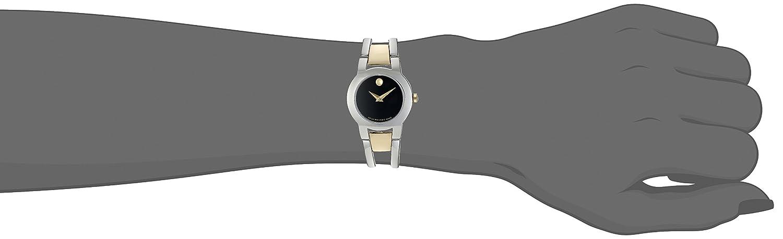 Movado Women s Swiss Quartz Stainless Steel Casual Watch Model 0606893